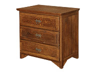 Chest and chest of drawers
